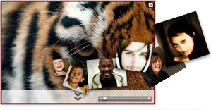 mosiac save tiger delhigreens
