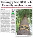 Newstory Hindustantimes trees felled for rugbyfield