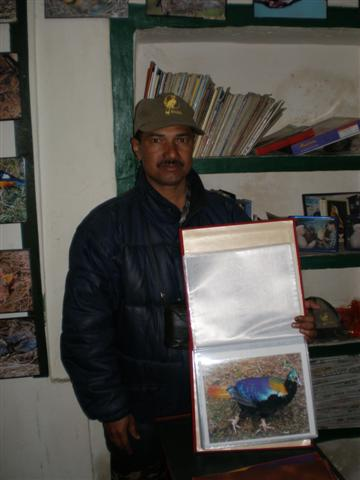 Mr. Yashpal Singh Negi bird watcher mandakini magpie