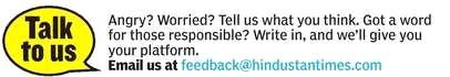 feedback to Hindustan Times delhigreen