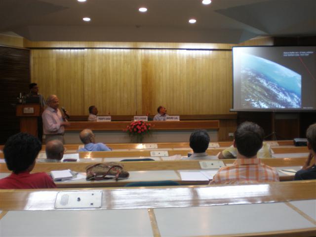 Prof. Husnain giving thepresentation