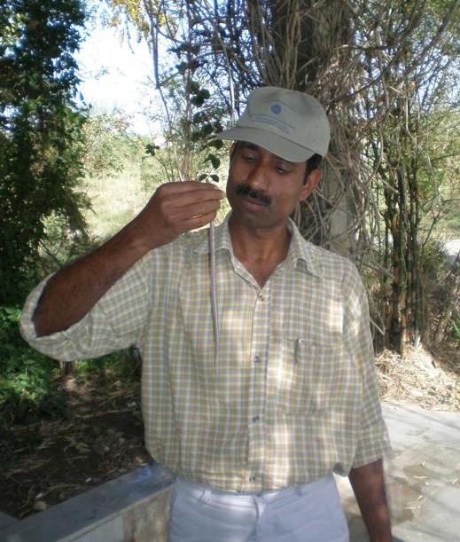 Faiyaz A Khudsar with asnake