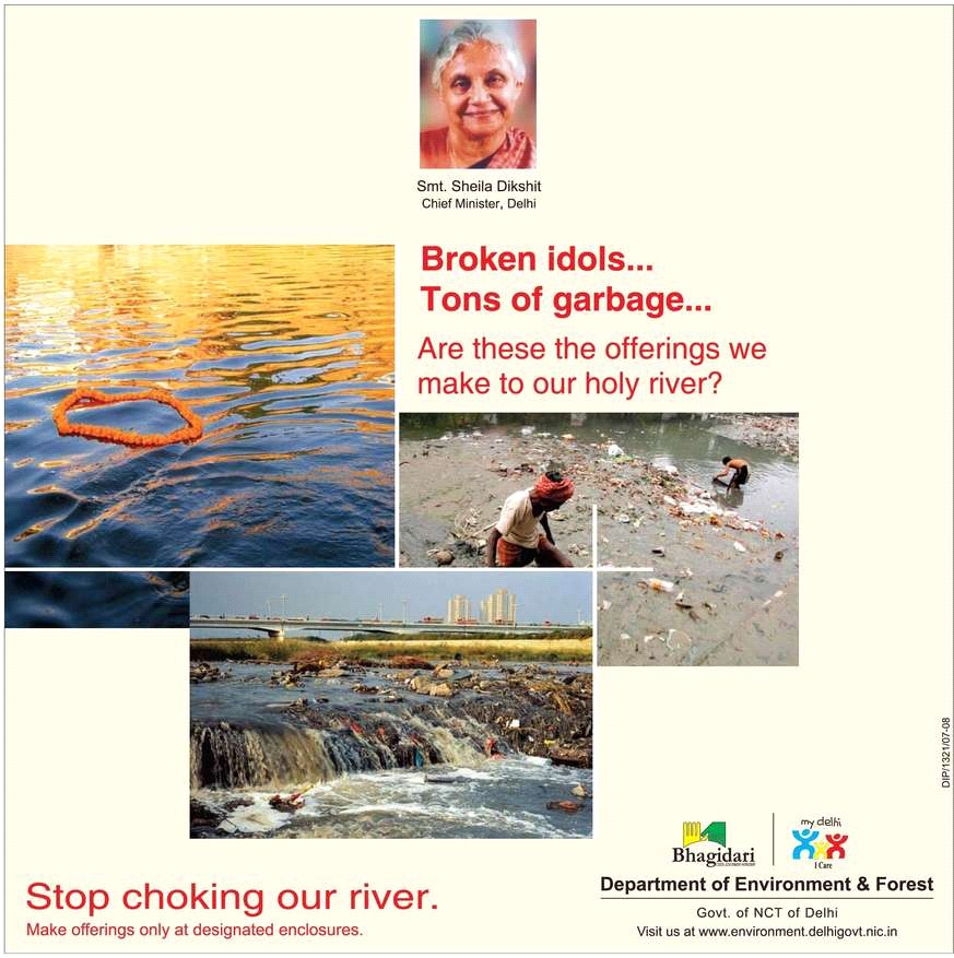 Stop Choking our rivers
