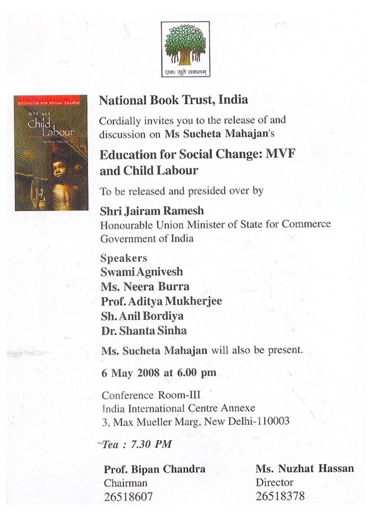 invitation book release and discussion